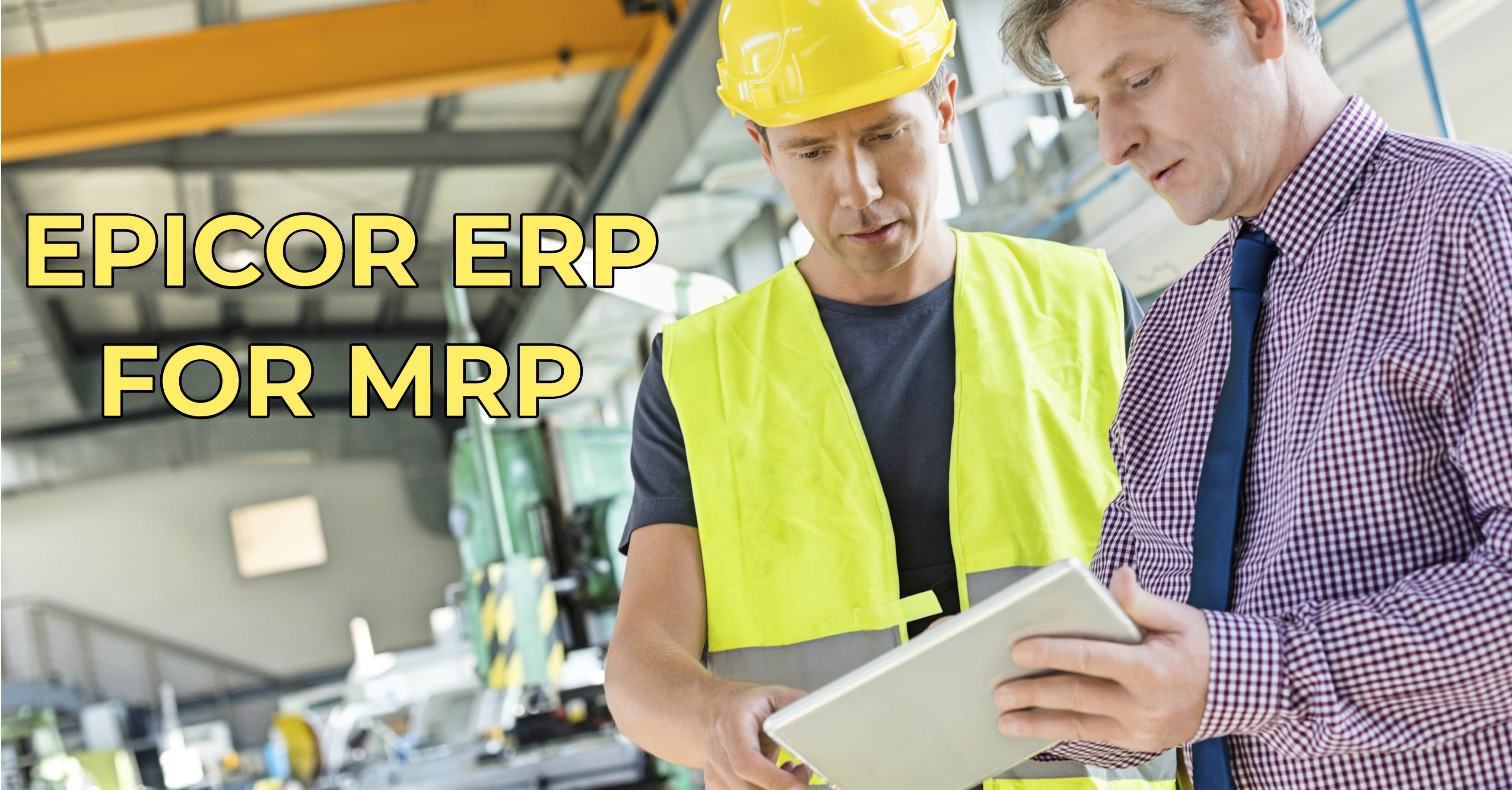 Fight Waste with Epicor's MRP Tools