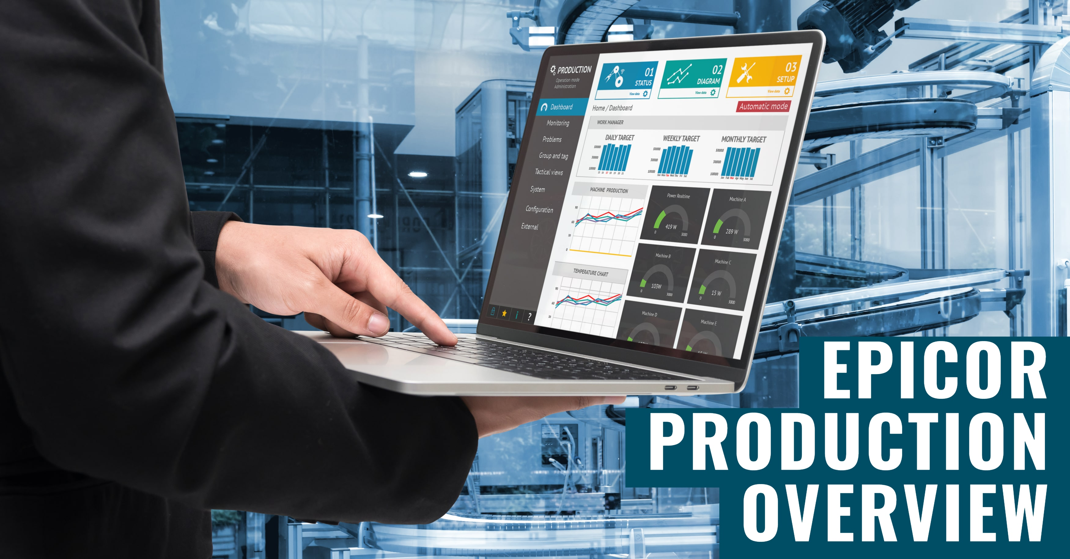 Boost Production Performance with Epicor ERP