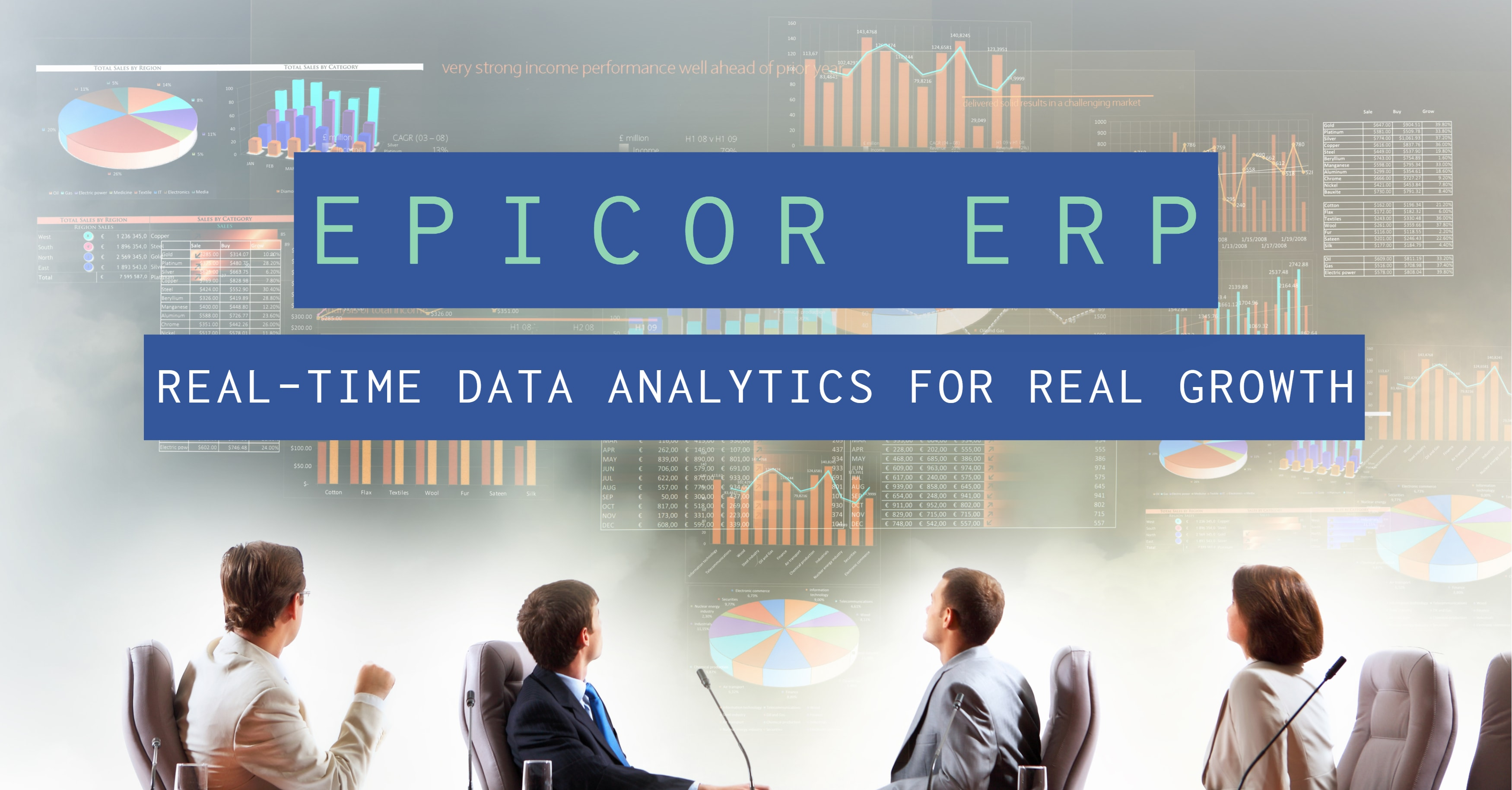 Epicor ERP: Real-Time Data Analytics for Real Growth