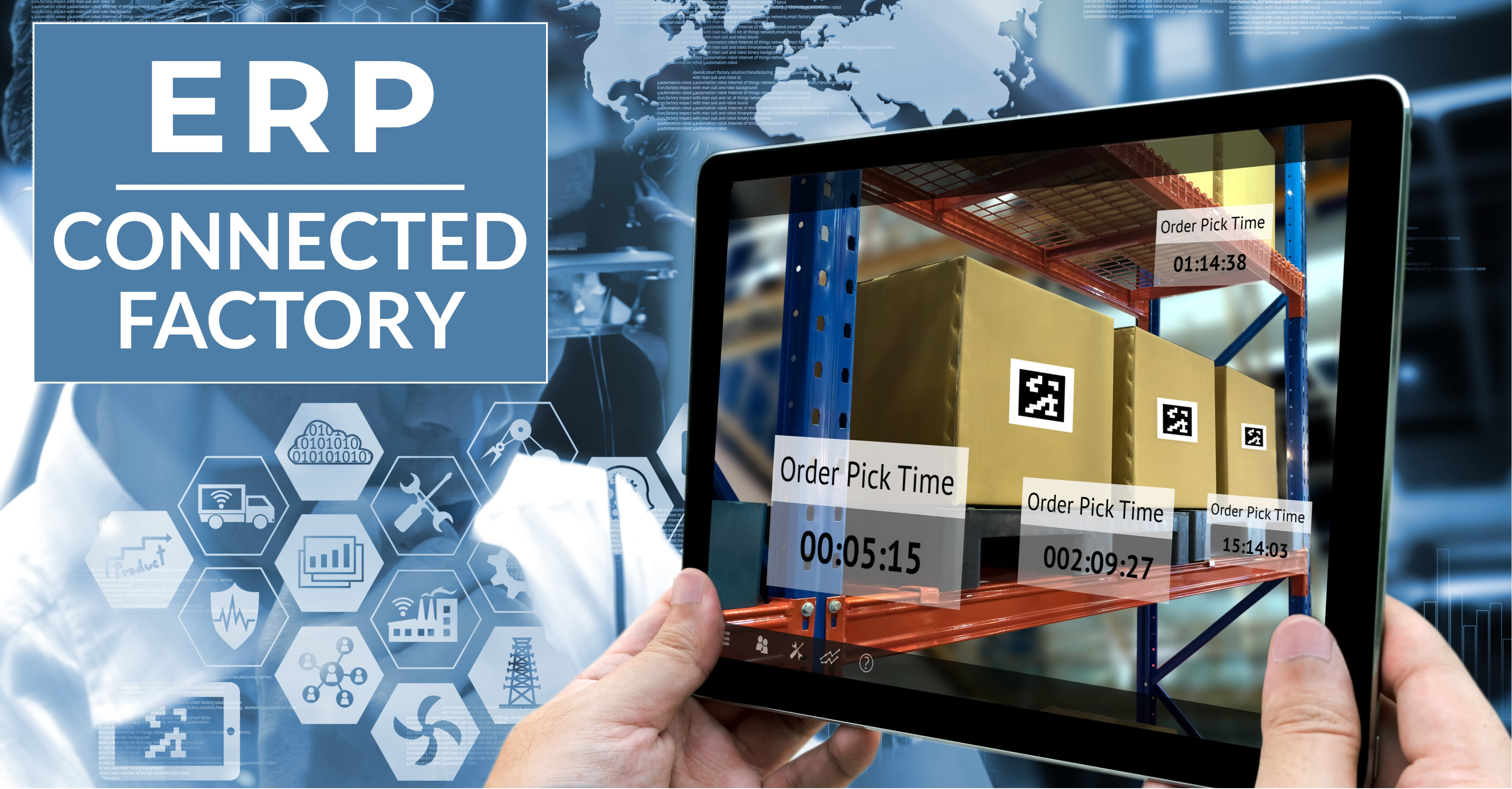 How Can ERP Help You Develop a Connected Factory?