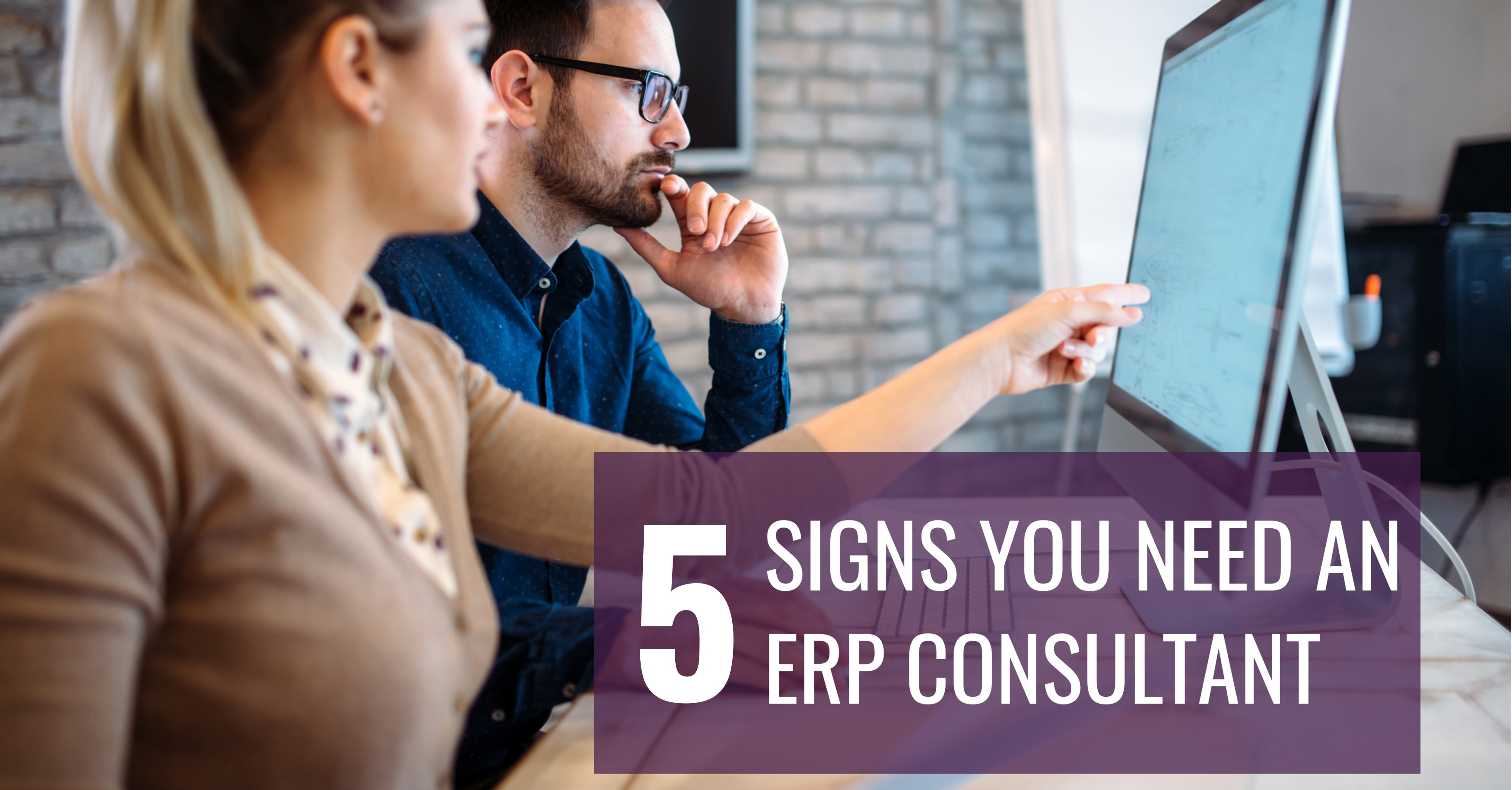 5 Signs You Need an ERP Consultant