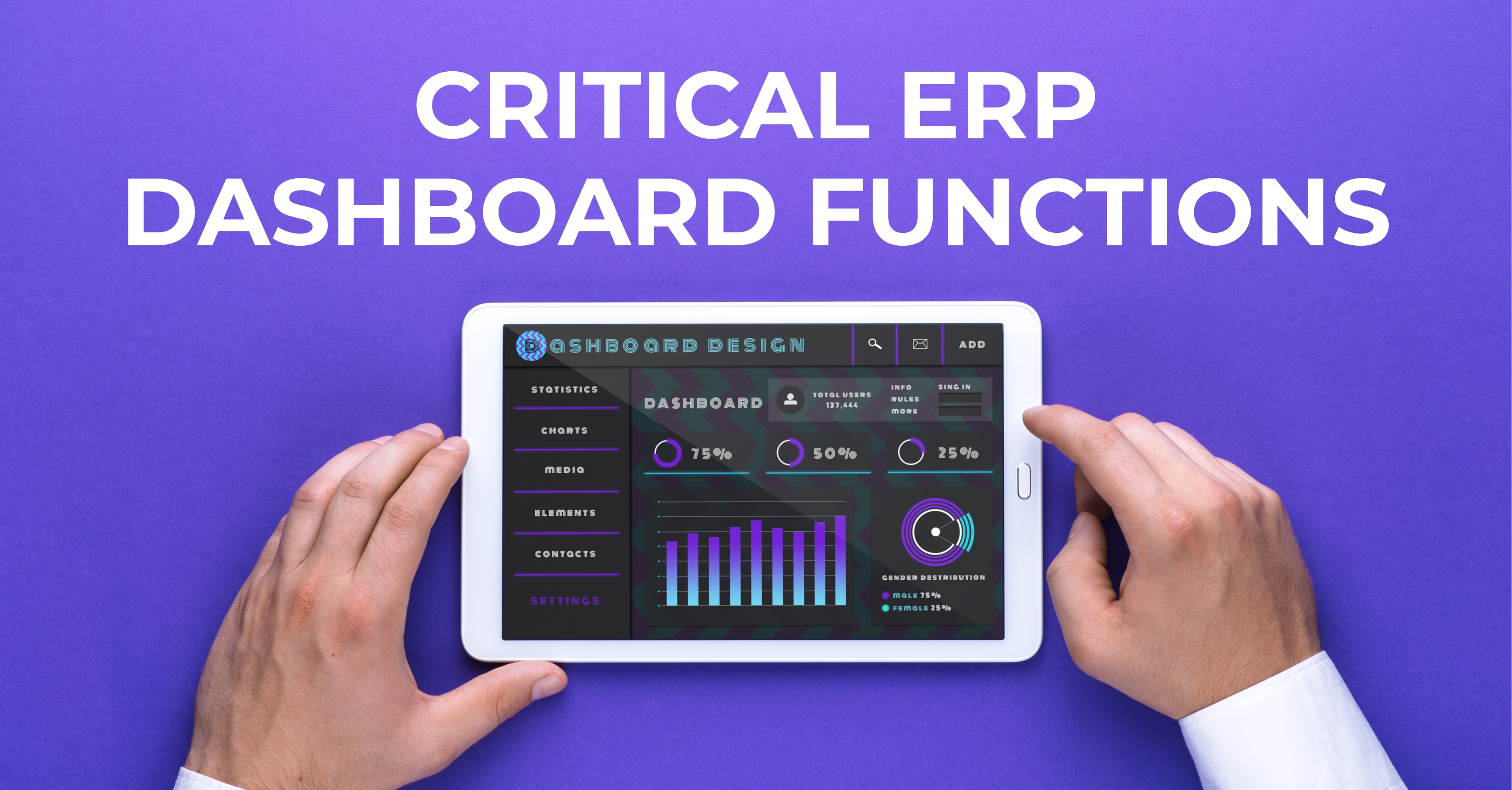 Become a Data-Driven Enterprise with ERP Dashboards