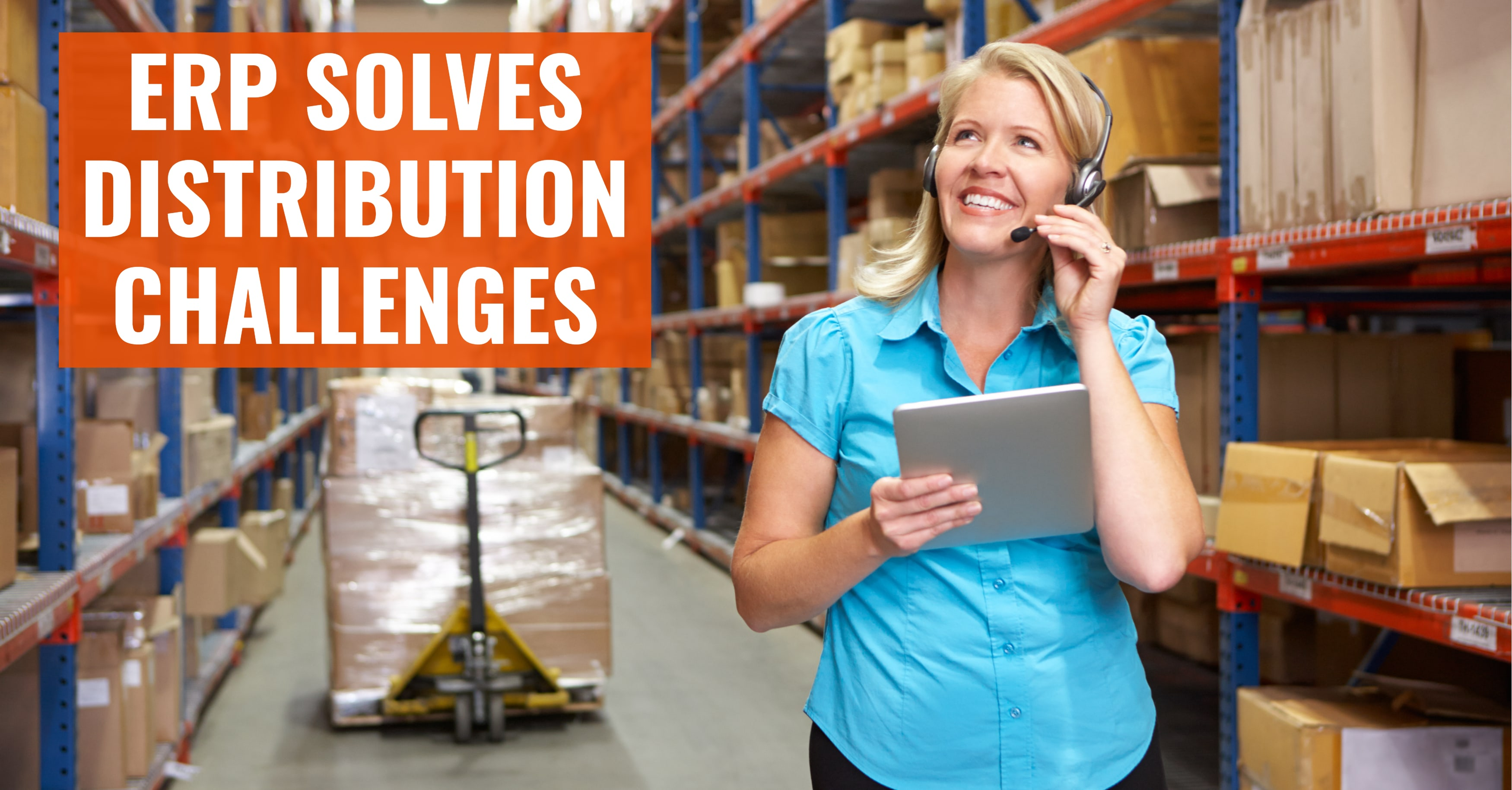 How ERP Solves Distribution Challenges