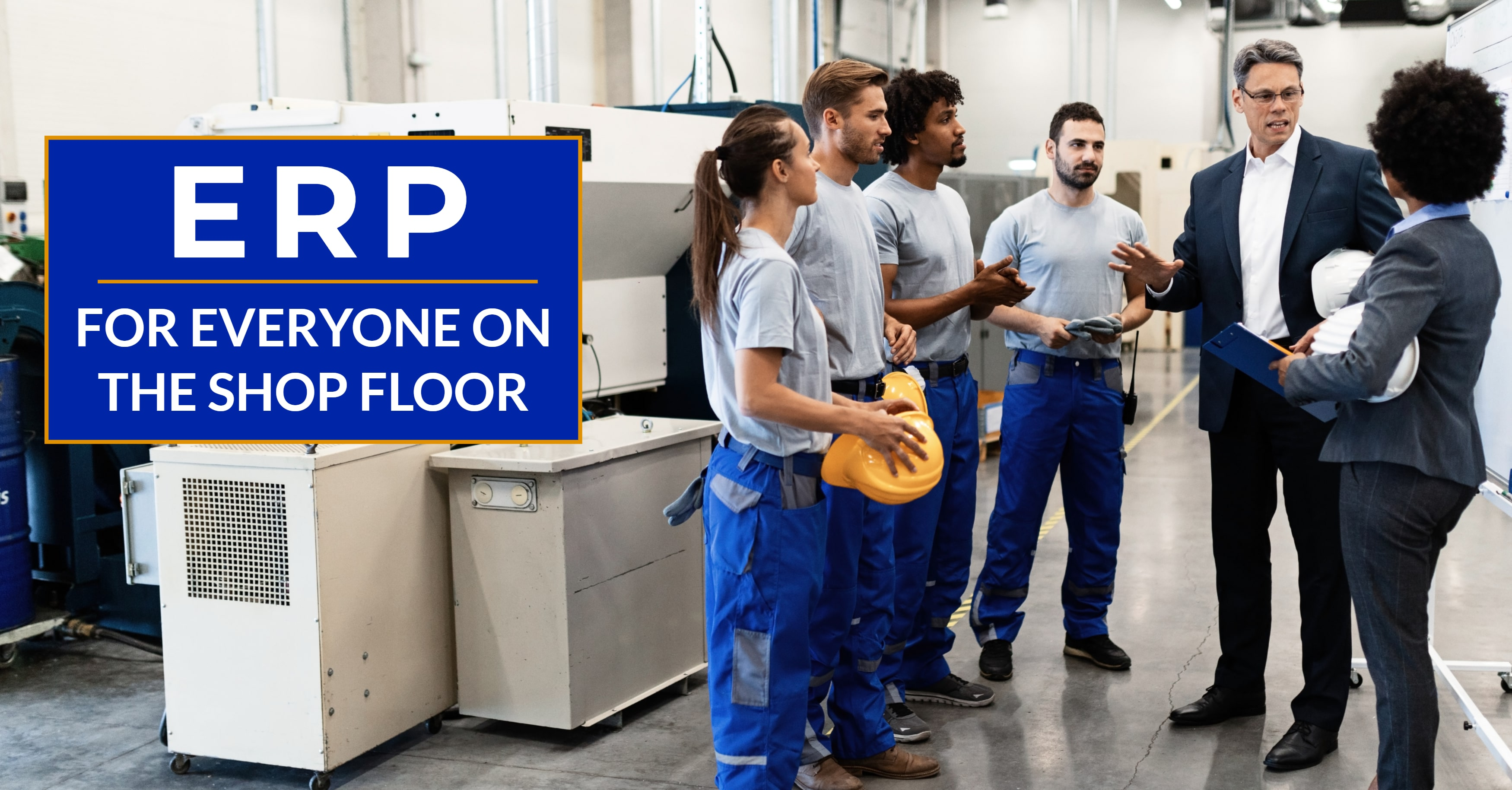 How ERP Can Help Everyone on the Shop Floor