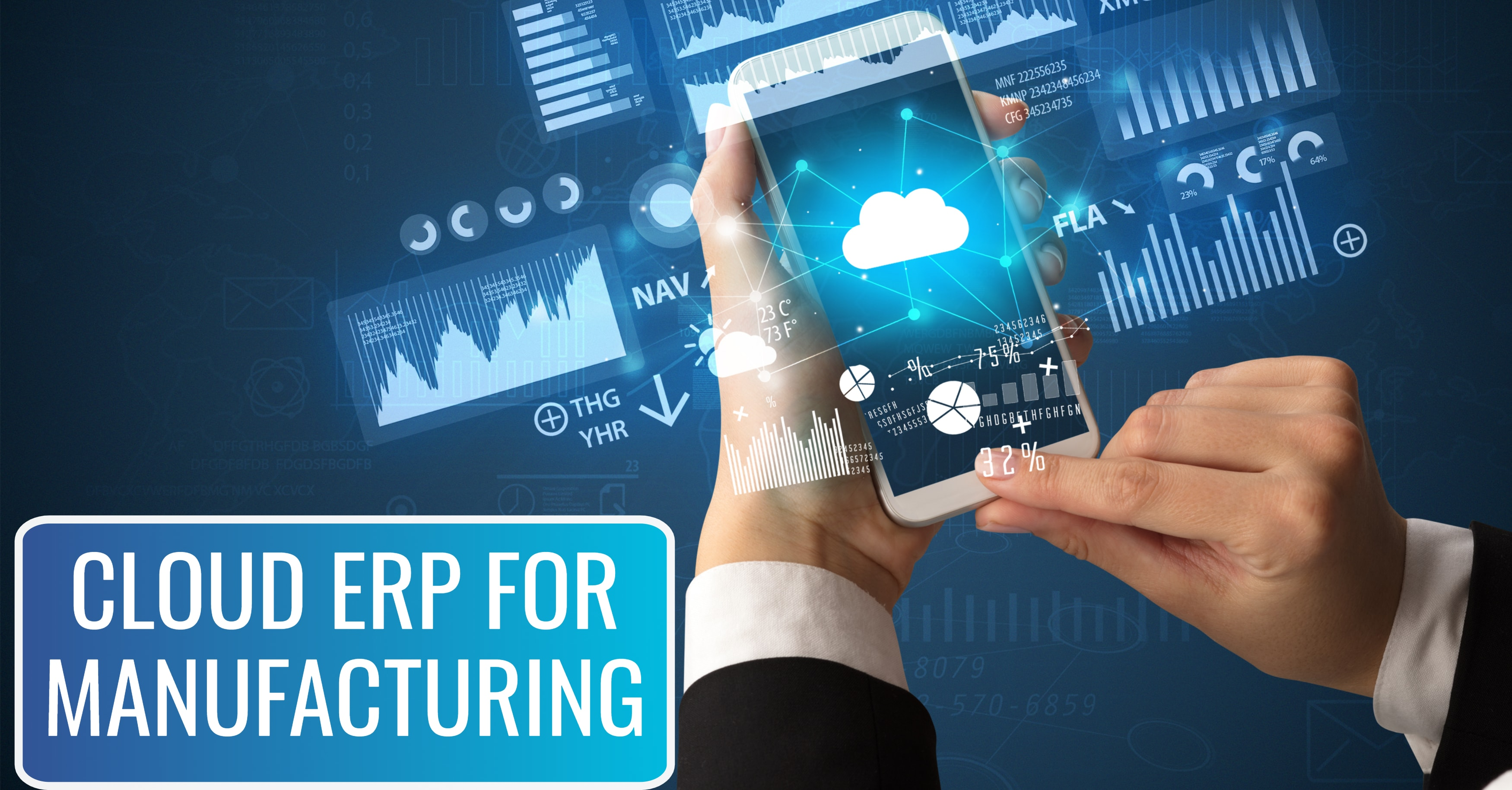 Why Host ERP Manufacturing Software in the Cloud?