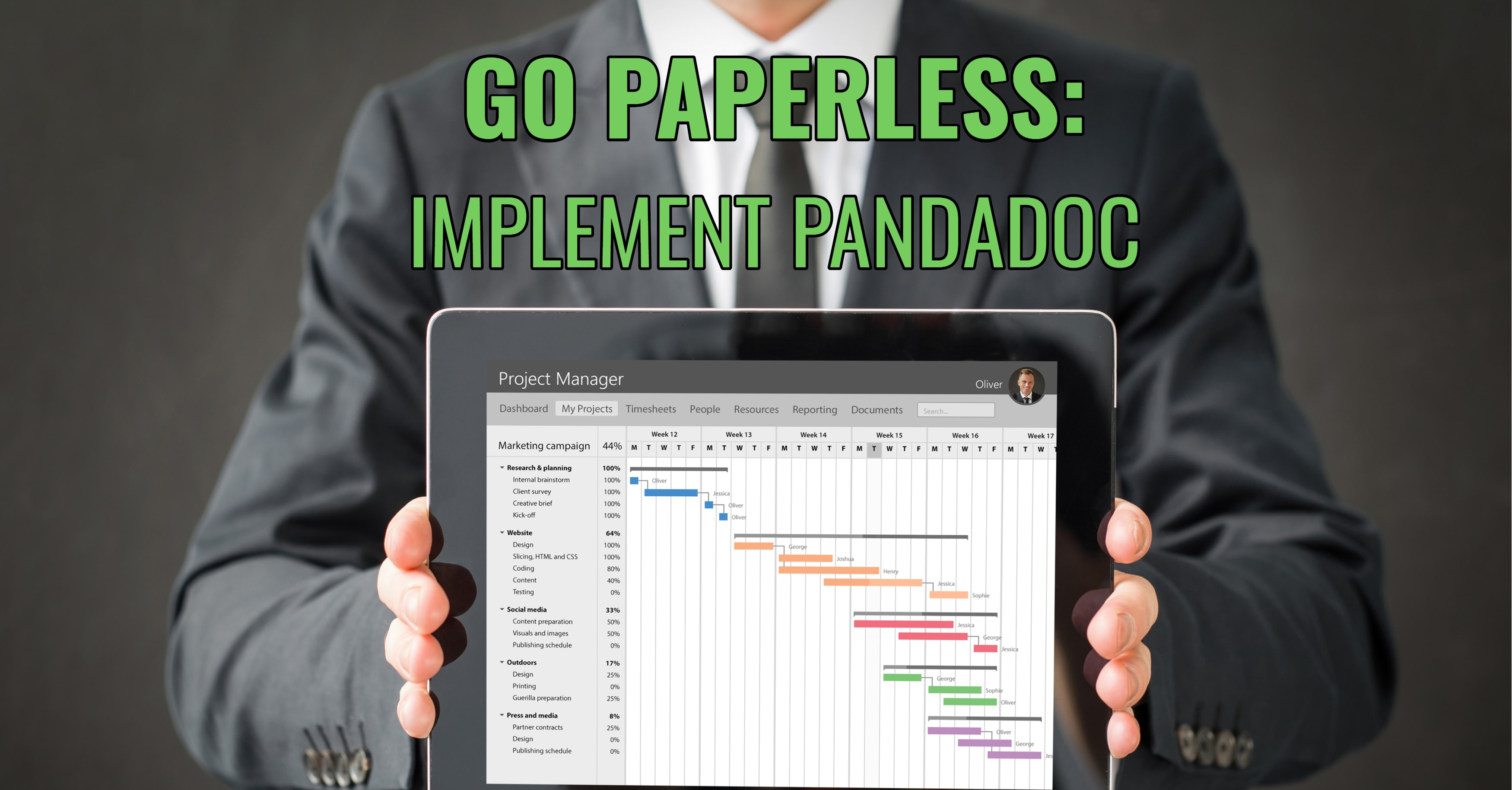 Go Paperless: Implement PandaDoc